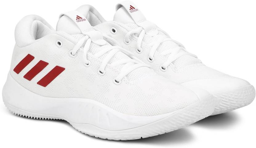 cad0078e3ac348 ADIDAS NXT LVL SPD VI Basketball Shoes For Men - Buy FTWWHT SCARLE ...