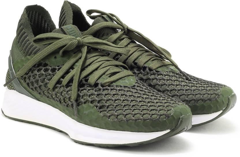 7512fe24a2cd Puma IGNITE NETFIT Running Shoes For Men - Buy Forest Night-Castor ...
