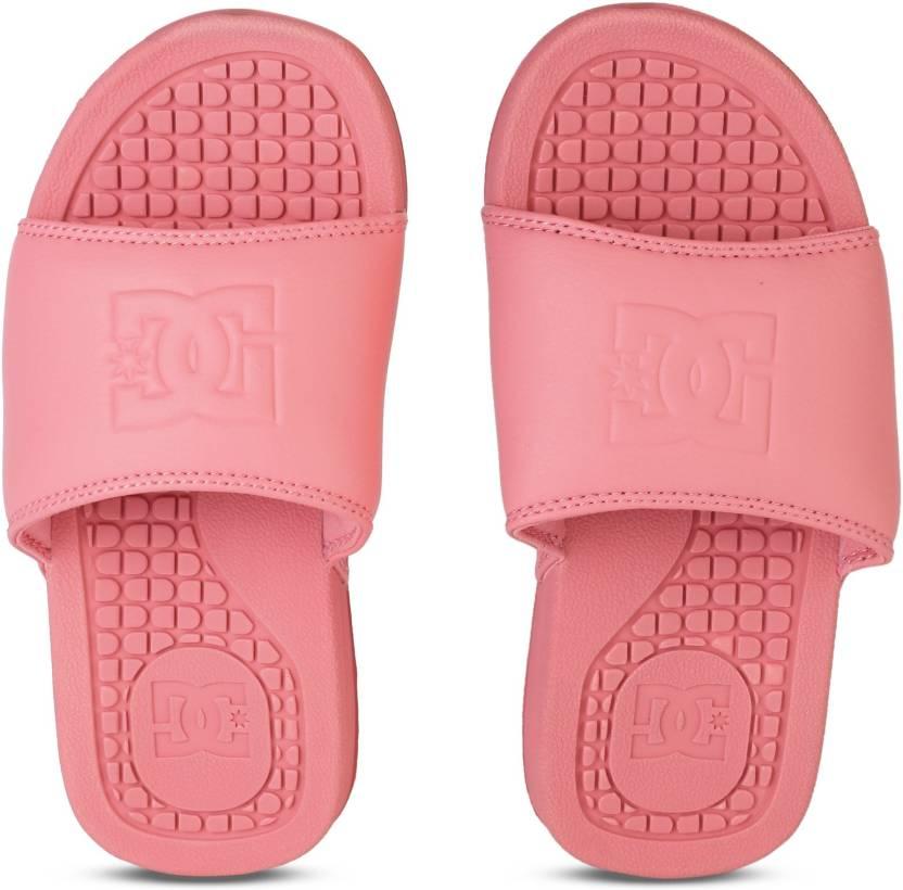 cbe6af21f5734 DC BOLSA J SNDL DRT Slides - Buy CREAM Color DC BOLSA J SNDL DRT Slides  Online at Best Price - Shop Online for Footwears in India