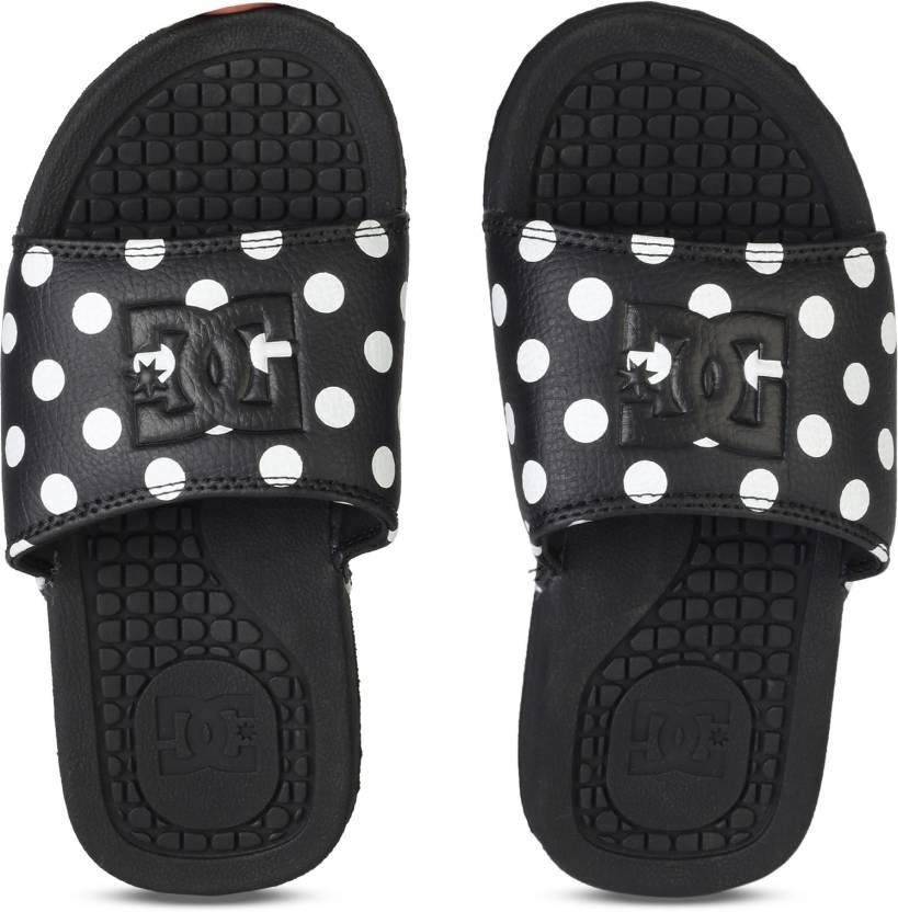 da062acfcfe8 DC BOLSA SE J SNDL BWP Slides - Buy BLACK Color DC BOLSA SE J SNDL BWP  Slides Online at Best Price - Shop Online for Footwears in India
