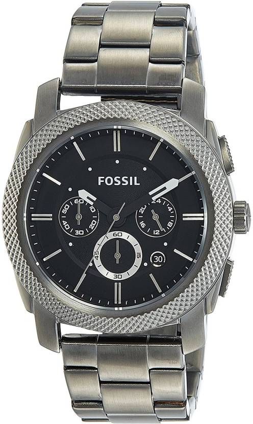 b7454bb6bbe Fossil Black5979 Fossil Men s FS4662 Machine Chronograph Stainless Steel  Watch - Smoke Watch - For Men - Buy Fossil Black5979 Fossil Men s FS4662  Machine ...
