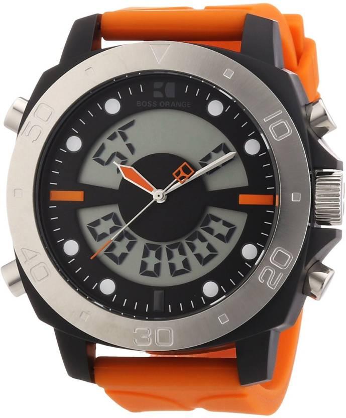 ae71b0b8e Hugo Boss Grey6438 Hugo Boss Orange Analog-Digital Chronograph Dial Mens  Watch 1512681 Watch - For Men - Buy Hugo Boss Grey6438 Hugo Boss Orange ...