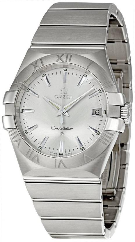 b992b506cac5 Omega Silver6405 Omega Men s 123.10.35.60.02.001 Constellation 09 Silver  Dial Watch Watch - For Men - Buy Omega Silver6405 Omega Men s  123.10.35.60.02.001 ...