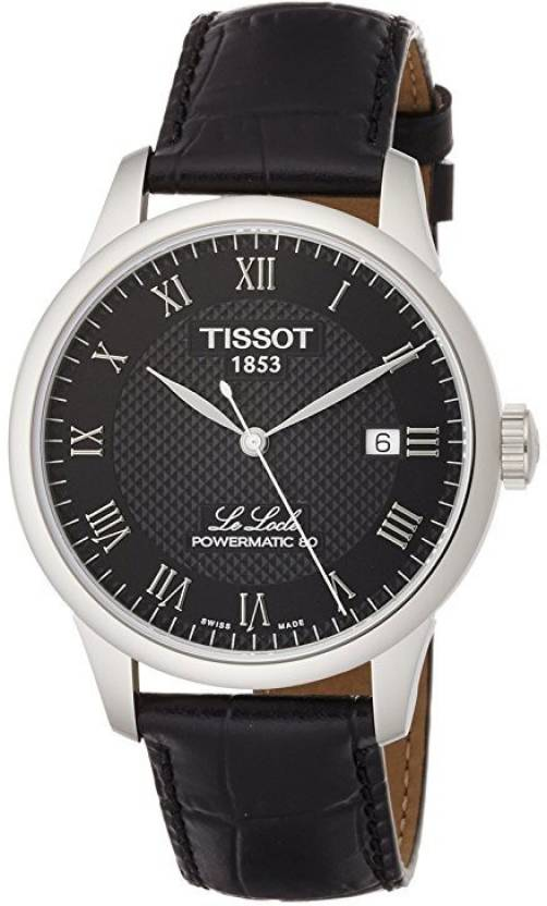 04787ba22 Tissot Black2334 Tissot Le Locle Powermatic 80 Automatic Black Dial Mens  Watch T0064071605300 Watch - For Men - Buy Tissot Black2334 Tissot Le Locle  ...