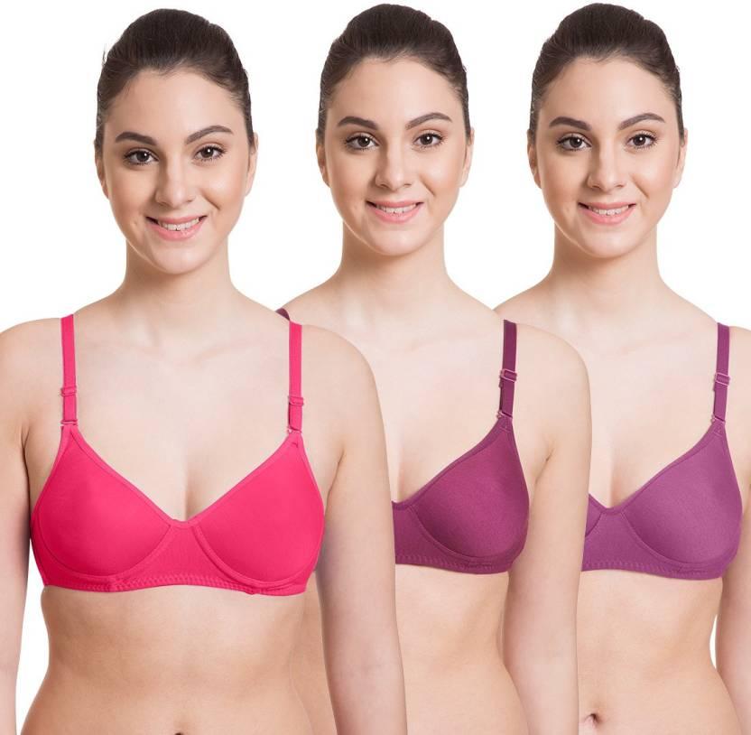 buy good pretty cool half price Komli by Belle Lingeries Women's Full Coverage Heavily ...