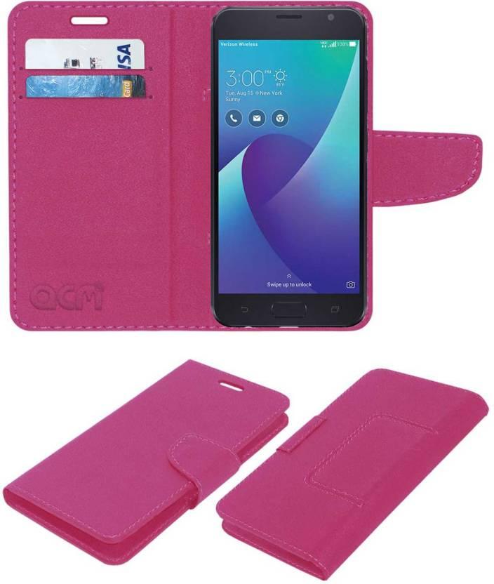 best service 2a6fe 482f3 ACM Wallet Case Cover for Asus Zenfone V - ACM : Flipkart.com