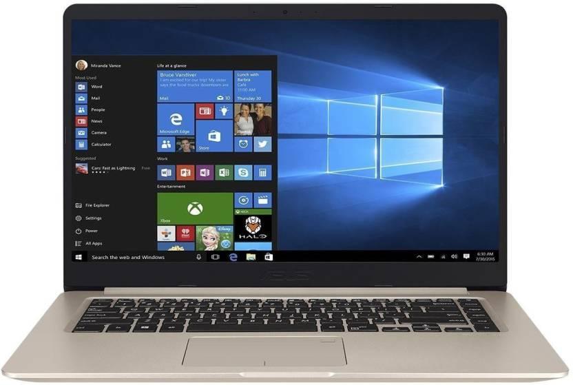Asus Vivobook S15-S510UN Core i7 8th Gen - 8GB/1TB HDD/128 GBSSD/Windows 10 Home/15.6-inch, Gold