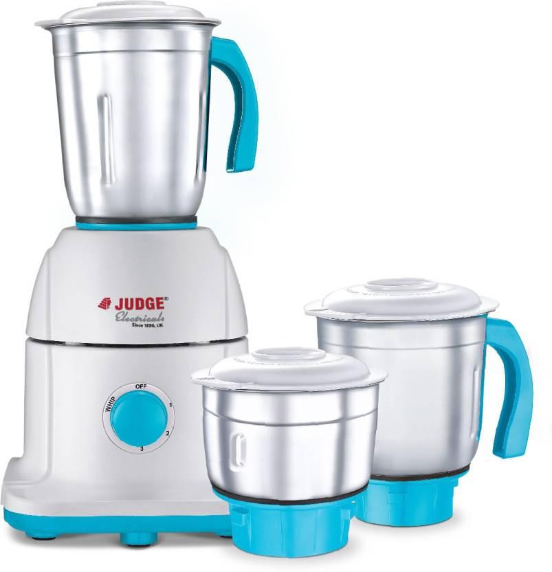 JUDGE By TTK Prestige Mixer Grinder 550 Watt 550 W Mixer Grinder (White, 3  Jars) 135ddef273