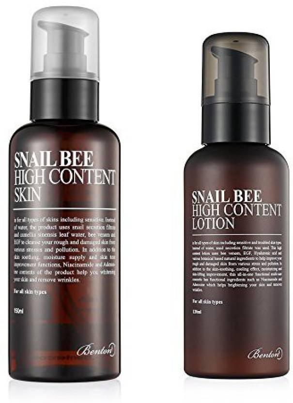 Generic Benton Snail Bee High Content Skin And Lotion (120 ml)