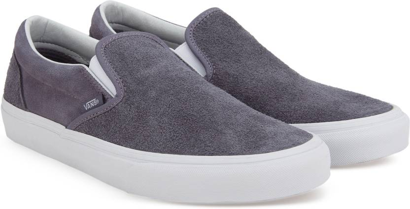 8b0acfeac4568f Vans Classic Slip-On Slip on Sneakers For Men - Buy (Hairy Suede ...