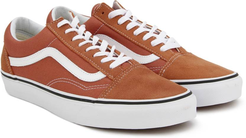 9b9f6751b8db9e Vans Old Skool Sneakers For Men - Buy autumn glaze true white Color ...