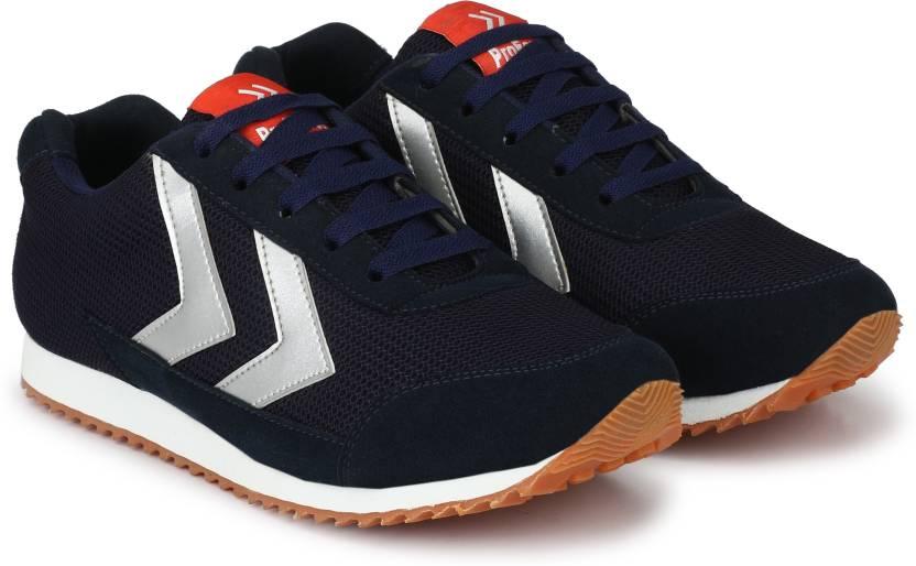 e5018e216 Proforce Light-Trail Navy Blue Mesh Running Shoes For Men - Buy ...