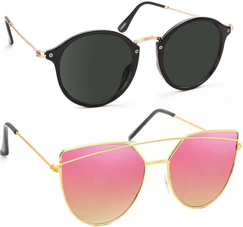 Buy Elgator Aviator Sunglasses Black be02daeead