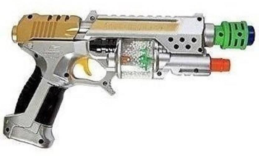 CLAP N TAP Laser Sound Gun with Spinner-Laser Pointer-Sound Effect
