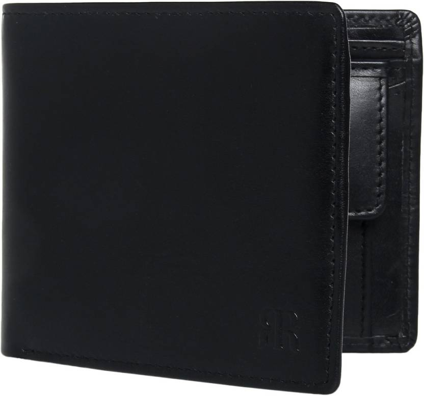 e3a27e9ef1bde Raymond Men Black Genuine Leather Wallet