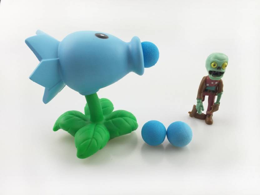ZenShanti PVZ Plants vs Zombies Peashooter Action Figure Toy