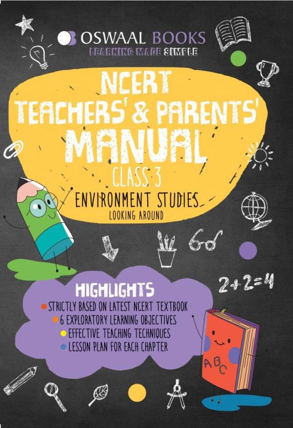 Oswaal NCERT Teachers & Parents Manual Class 3 E V S Looking around