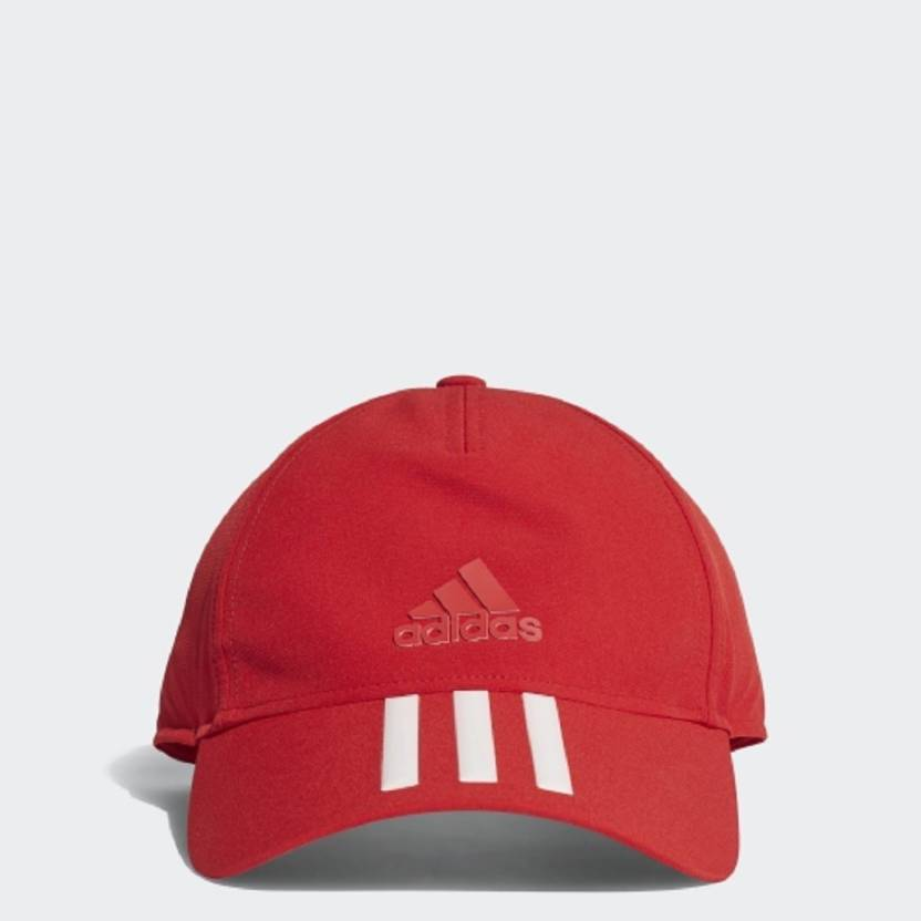 e85e811cf48 ADIDAS Solid C40 3-STRIPES CLIMALITE CAP Cap - Buy ADIDAS Solid C40  3-STRIPES CLIMALITE CAP Cap Online at Best Prices in India