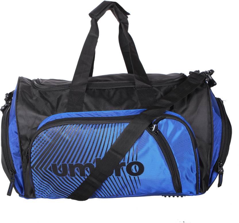 cbbda505370a Umbro by Big Bazaar Impact Duffle Airbag (Blue) Travel Duffel Bag ...