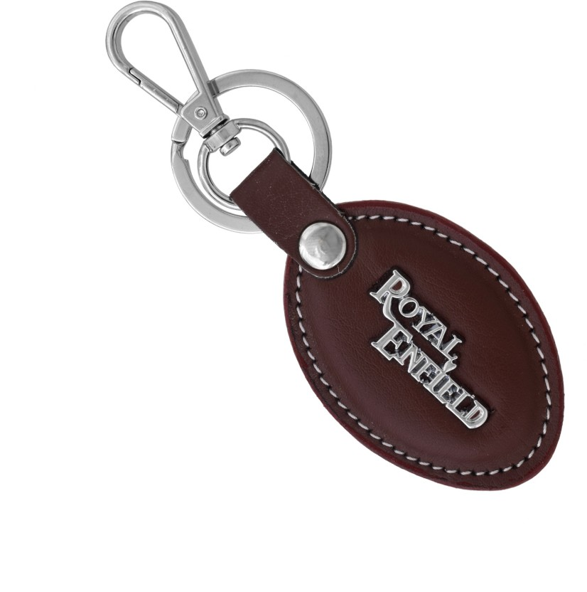 Honda Chrome Oval Metal Key Chain Keychain