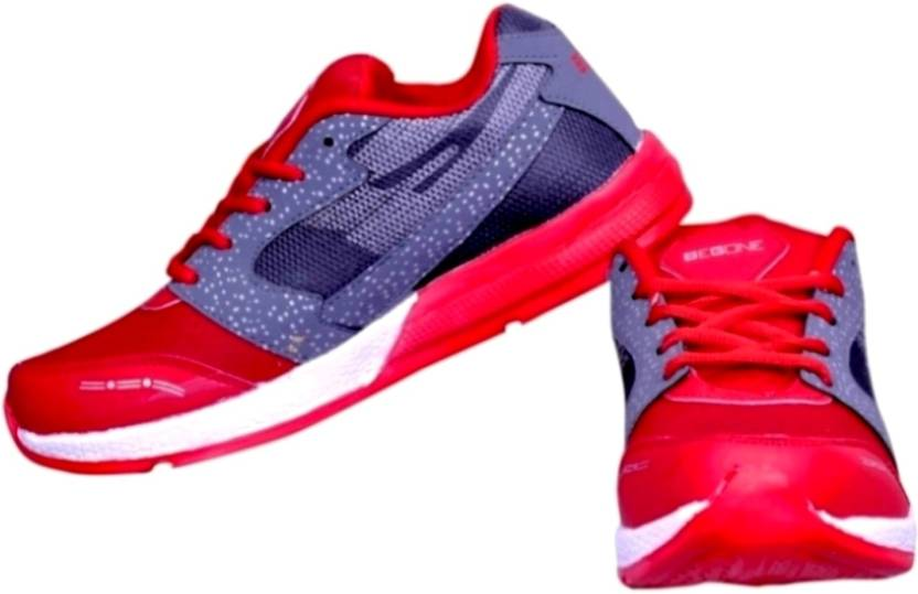 b7ba6cfa7dc5 Begone NT Saga Red 2Ble Sole Running Shoes For Men - Buy Begone NT ...