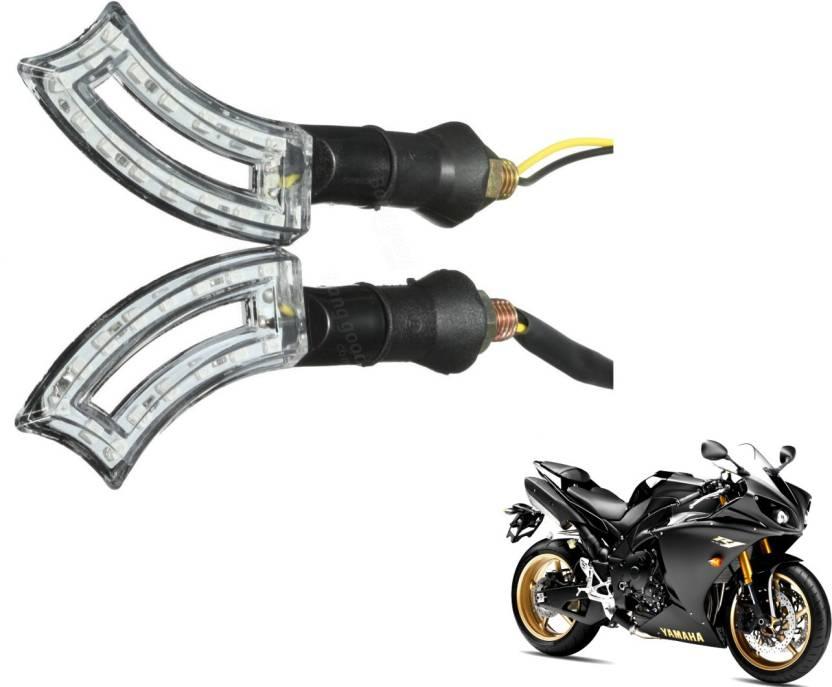 Mockhe Front, Rear LED Indicator Light for Yamaha YZF R1