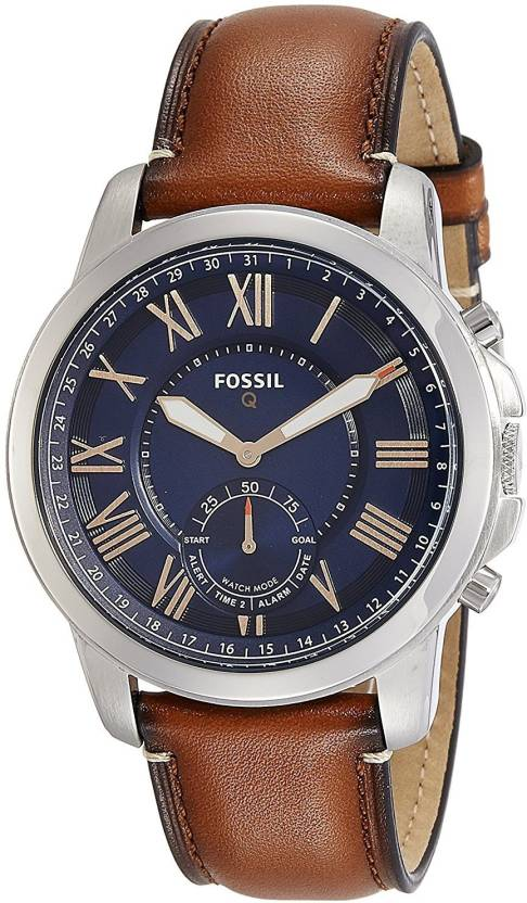 977b3024ec Fossil Blue11632 Fossil FTW1122 Q Grant Gen 2 Hybrid Smartwatch, Light Brown  Leather Watch - For Men - Buy Fossil Blue11632 Fossil FTW1122 Q Grant Gen 2  ...