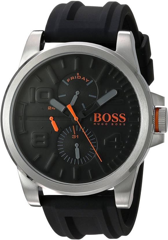 3cb3c33558e1 Hugo Boss Black5653 HUGO BOSS Men s  DETROIT SPORT  Quartz Stainless Steel  and Silicone Casual Watch
