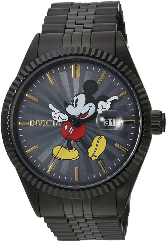 331793b4c8d Invicta Grey5962 Invicta Men's 'Disney Limited Edition' Quartz Stainless  Steel Casual Watch, Color:Black (Model: 22771) Watch - For Men - Buy Invicta  ...