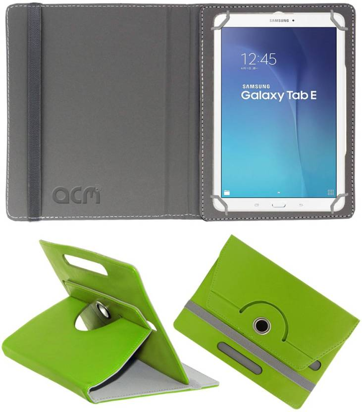 ACM Book Cover for Samsung Galaxy Tab E Sm T561 Green