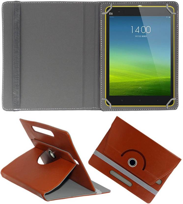 ACM Book Cover for Xiaomi Mi Pad 8 Brown