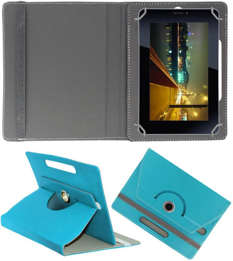 ACM Book Cover for iBall Slide 7334i 7 inch Tablet Greenish Blue