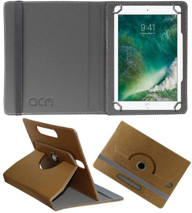 ACM Book Cover for Apple iPad 9.7 inch Golden, Cases with Holder