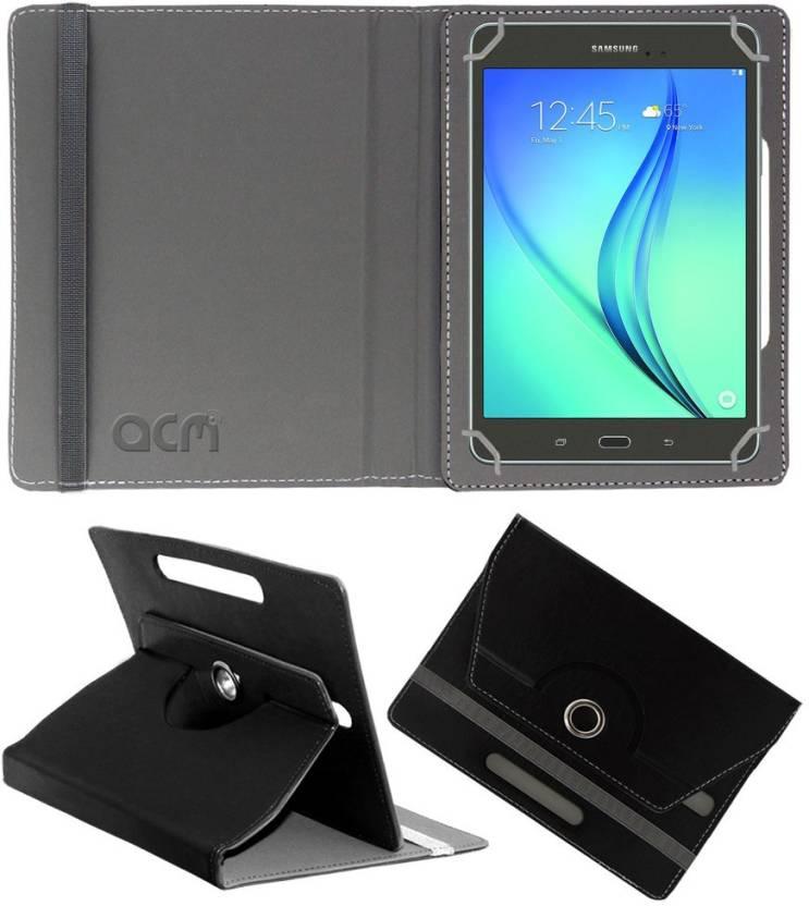 ACM Book Cover for Samsung Tab A Sm T355yzwa Black