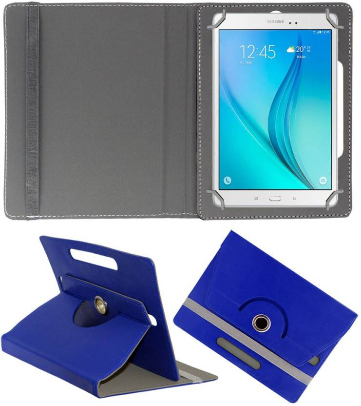ACM Book Cover for Samsung Galaxy Tab A T355 Dark Blue