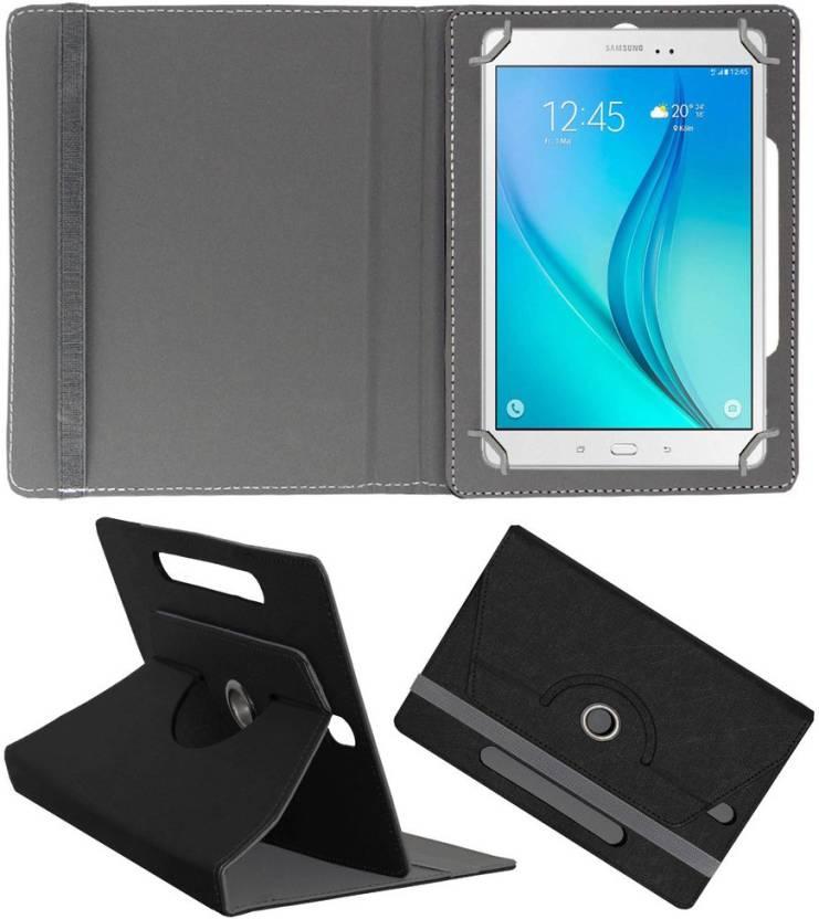 ACM Book Cover for Samsung Galaxy Tab A T355 Black