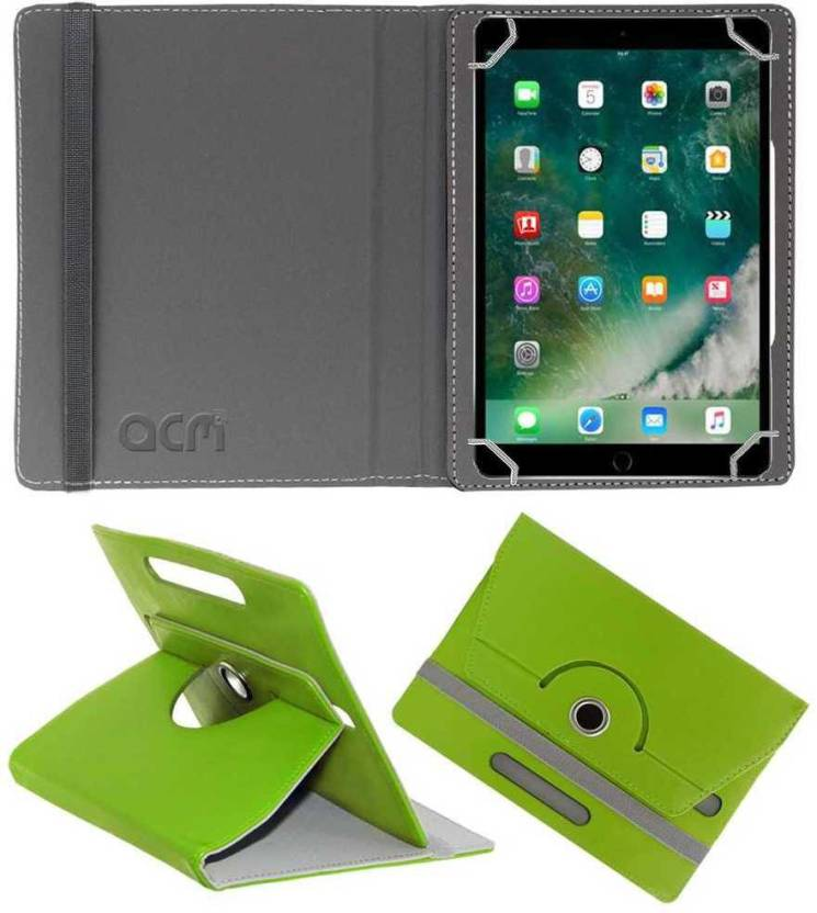 ACM Flip Cover for Apple Ipad Pro 10.5 Green, Cases with Holder