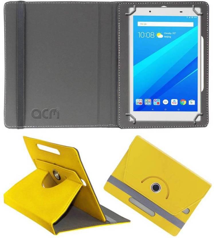 best value a91db b3b2d ACM Flip Cover for Lenovo Tab 4 8 - ACM : Flipkart.com
