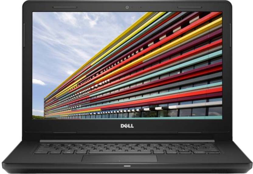 Dell Inspiron Core i3 6th Gen - (4 GB/1 TB HDD/Linux) 3467 Laptop  (14 inch, Black, 1.956 kg) Dell Laptops
