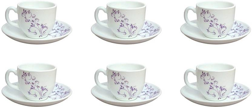Cello Tea Coffee Cup Saucer 100 Ml Marble Price In India