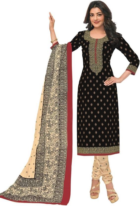 64806417fc Pranjul Cotton Printed Salwar Suit Material Price in India - Buy ...