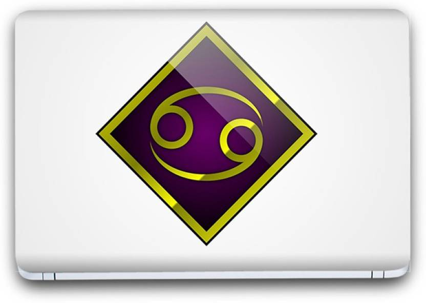 Flipkart SmartBuy Zodiac Sign Gemini Symbol 6 Vinyl Laptop