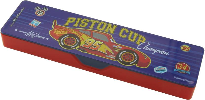 flipkart com disney junior cars junior cars art plastic pencil box