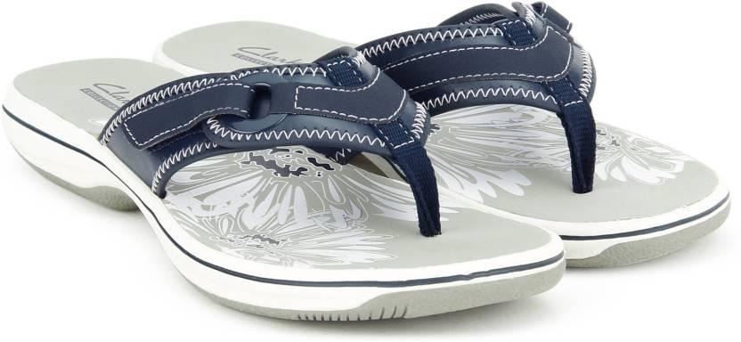 a97d483b18cf15 Clarks Brinkley Mila Navy Flip Flops. Home · Footwear · Women s Footwear