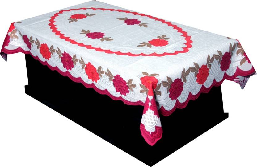 0a56eced3f9 Kuber Industries Self Design 4 Seater Table Cover - Buy Kuber ...