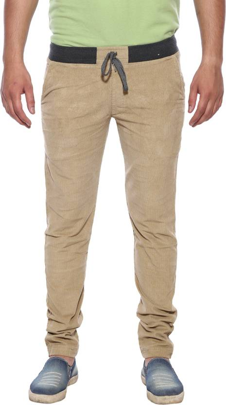 d62ff1ec1a XN REPLAY Printed Men Beige Track Pants - Buy XN REPLAY Printed Men ...