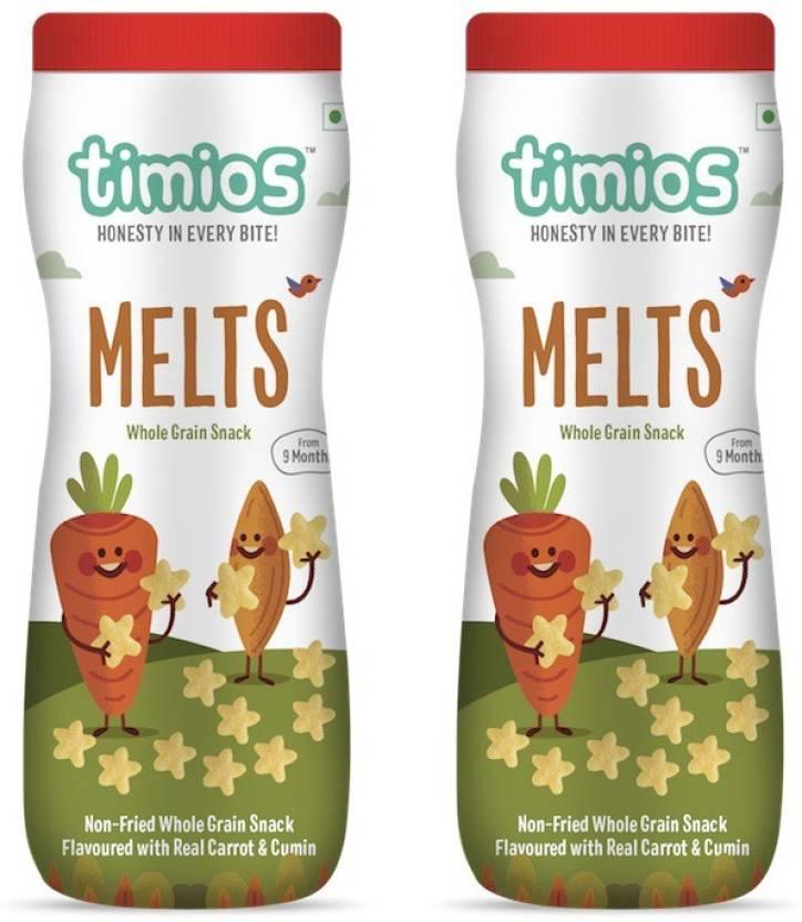 timios MELTS - Carrot & Cumin 9+ Months 100% Natural