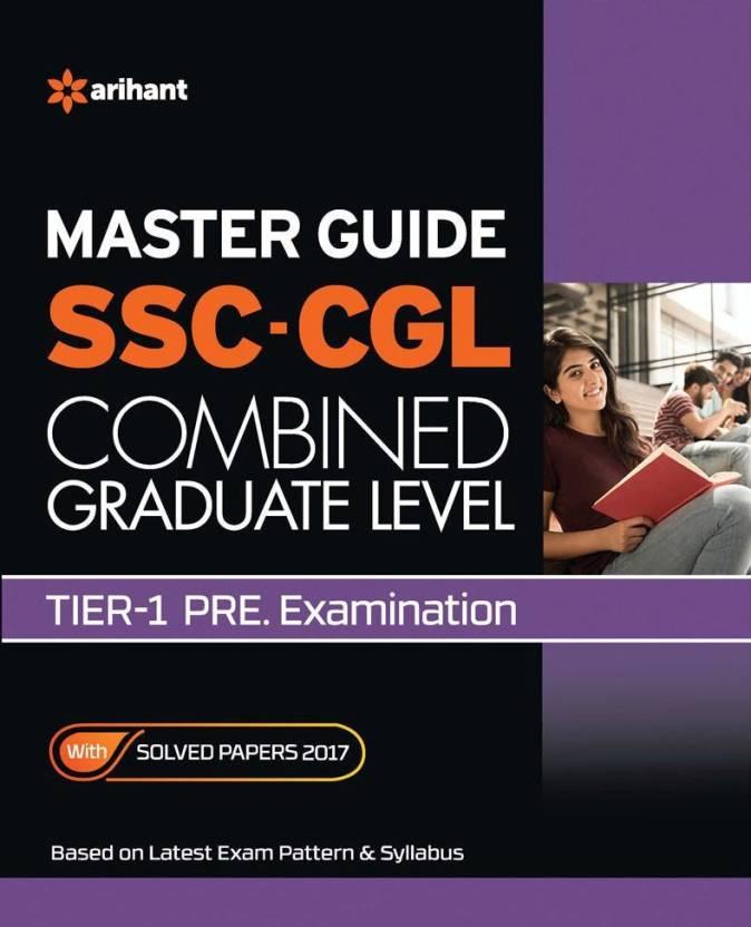 Master Guide SSC CGL Tier 1 Pre Exam 2018