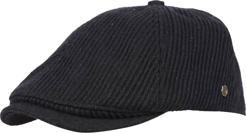 FabSeasons Unisex corduroyed Golf Flat Cap with size adjustment Cap ... e95f7c37be3