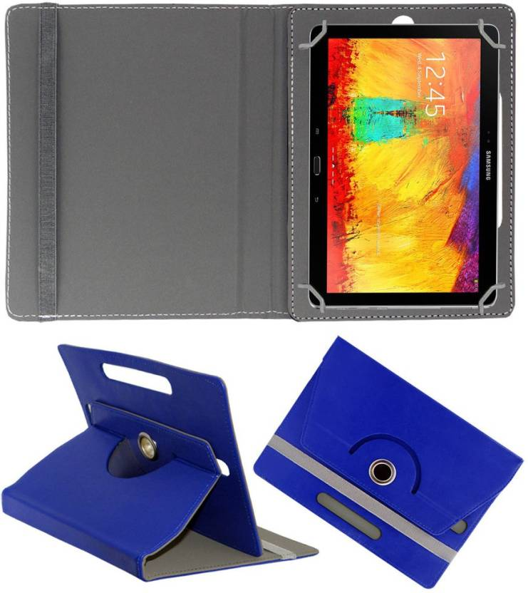 ACM Flip Cover for Samsung Galaxy Note 10.1 P6010 Blue, Cases with Holder ACM Cases   Covers
